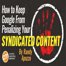 How to keep Google from penalizing your syndicated content