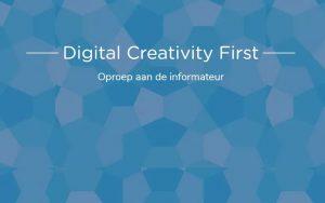 Digital creativity first