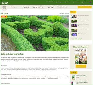 groene bouwelementen - topiary